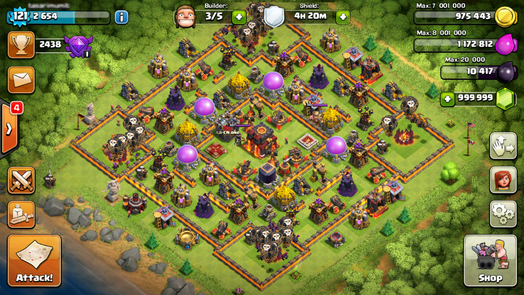 clash of clans ultimate hack tool
